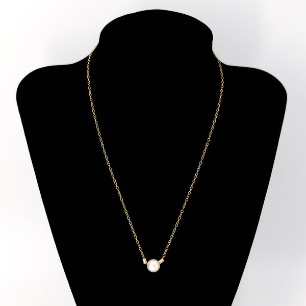 Pearl Necklace in Gold Maria Kamara Designs - Strivezy