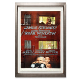 "Rear Window Smith & Co Galleries 27"" x 40"" Warm Silver 5mm Luxe Floated - Strivezy"