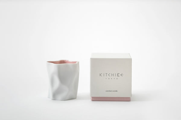 Sakura Crinkle Candle Kitchibe - Strivezy