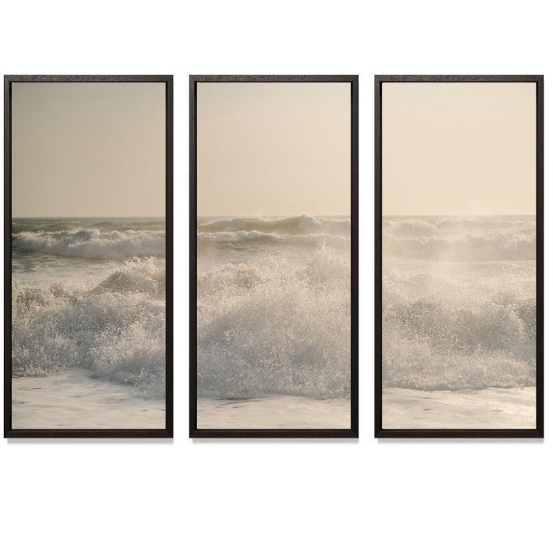 "Sam Scales - Surf Smith & Co Galleries 74"" x 50"" Modern Wood 2"" White Matt - Strivezy"