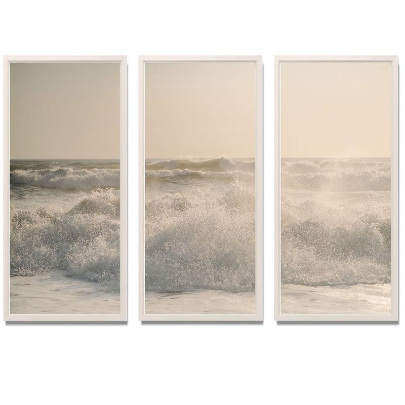 "Sam Scales - Surf Smith & Co Galleries 74"" x 50"" White 2"" White Matt - Strivezy"