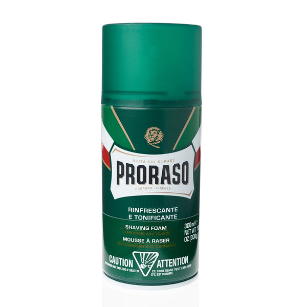 Proraso | Shave Foam | Refreshing and Toning | Classic Formula | Strivezy