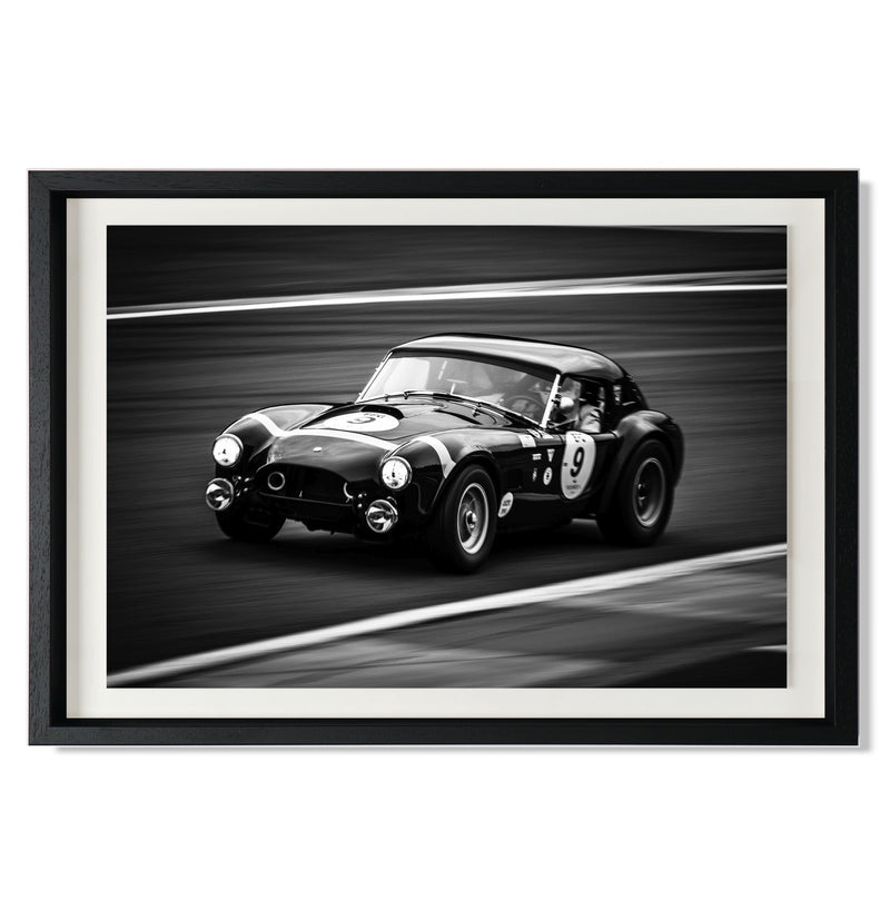 "Shelby Cobra Smith & Co Galleries 24"" x 16"" Modern Wood 5mm Luxe Floated - Strivezy"