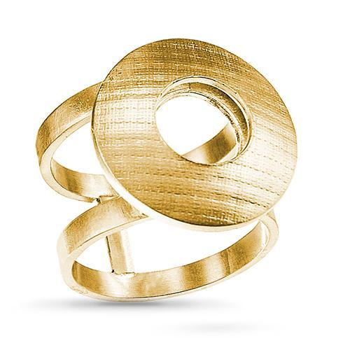 Pareure | Signature  | Hollowform Statement Ring | Silver | Gold | Strivezy