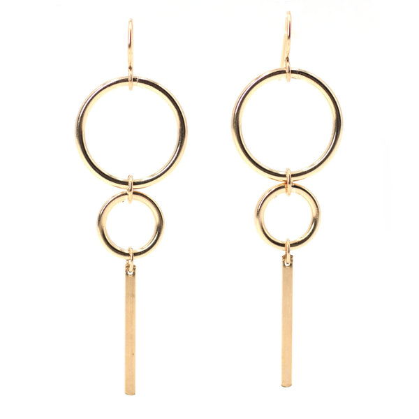 Simone Earrings Maria Kamara Designs - Strivezy