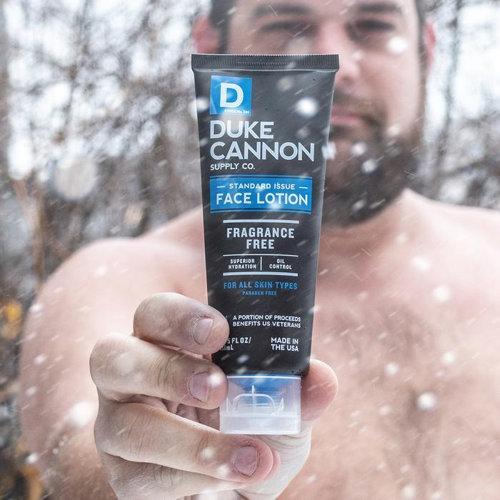 Standard Issue Face Lotion Duke Cannon Supply Co. - Strivezy