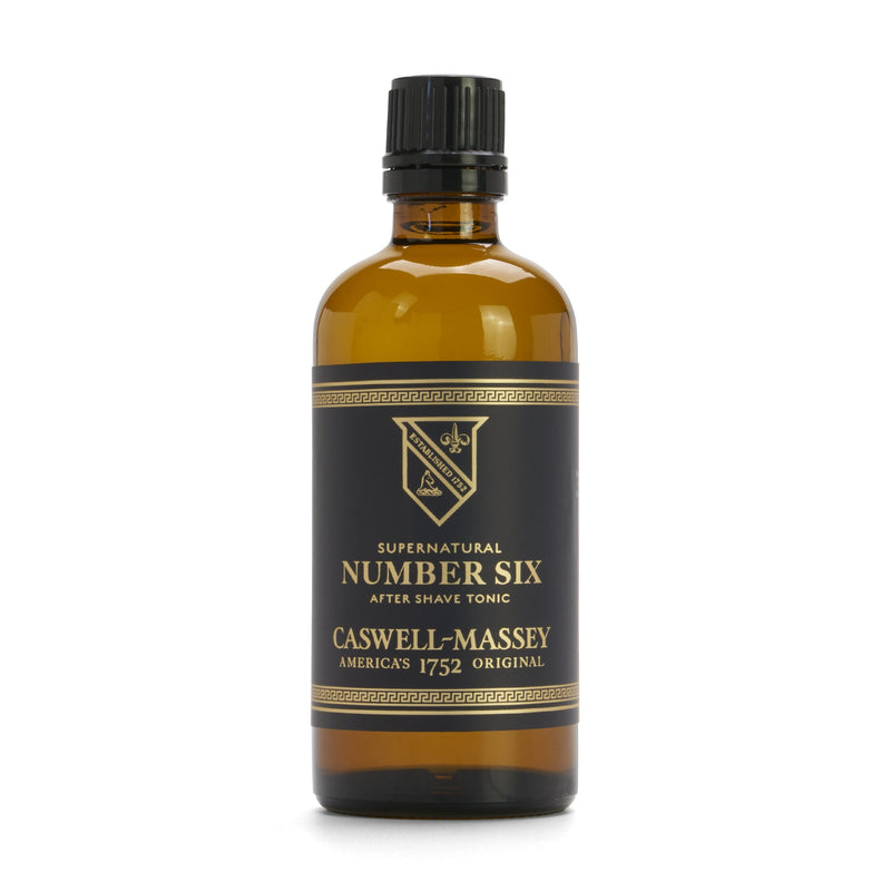 Supernatural Number Six After Shave Tonic 3.4 oz Caswell-Massey - Strivezy