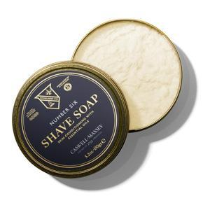 Supernatural Number Six Hot-Pour Shave Soap Tin 150g Caswell-Massey - Strivezy