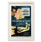 "To Catch A Thief Smith & Co Galleries 28"" x 40"" Cream 5mm Luxe Floated - Strivezy"