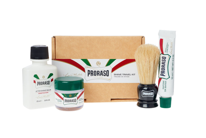 Proraso | Travel Shave Kit | Refreshing & Toning Classic Formula | Strivezy | Men's Grooming