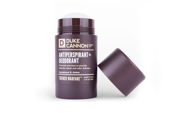 Trench Warfare Antiperspirant + Deodorant — Sandalwood & Amber Antiperspirant Duke Cannon Supply Co. - Strivezy