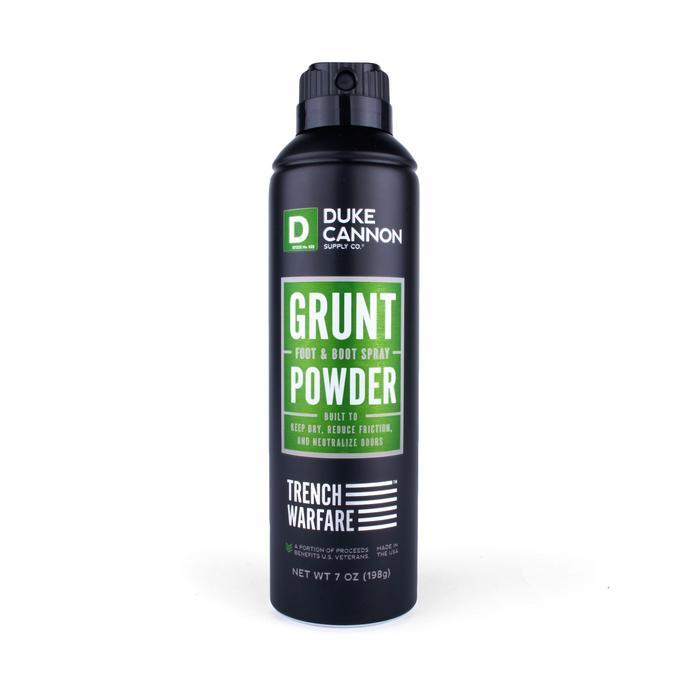 Trench Warfare Grunt Foot & Boot Powder Spray Duke Cannon Supply Co. - Strivezy