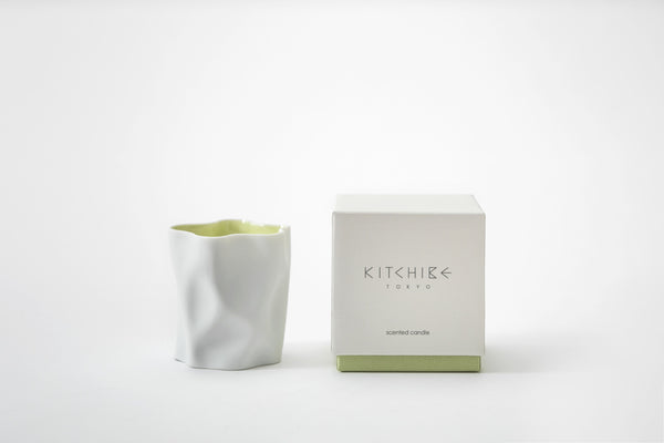 Washi Crinkle Candle Kitchibe - Strivezy