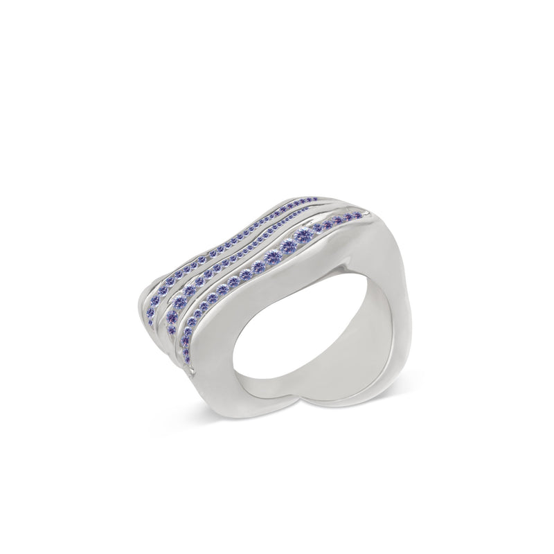 Atelier Orman | Wave Break | Blue Sapphire | Ring | Strivezy