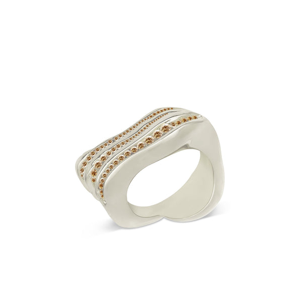 Atelier Orman | Wave Break | Champagne Diamond | Ring | Strivezy