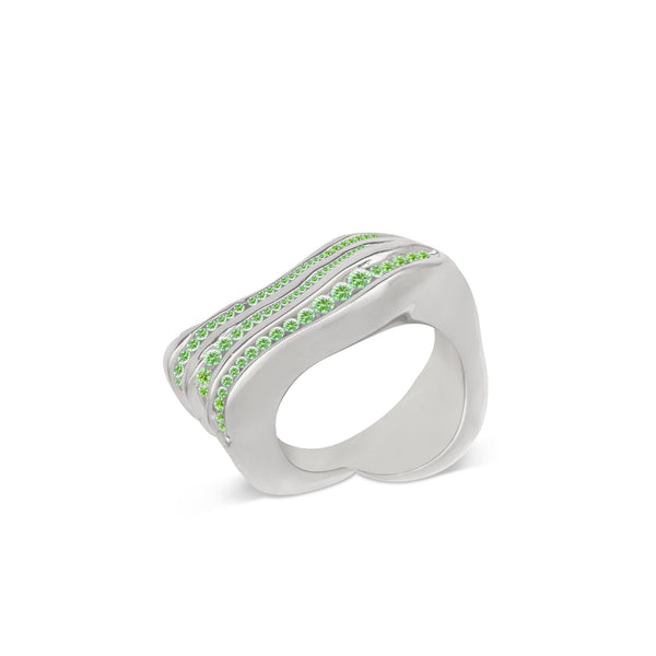 Atelier Orman | Wave Break | Tsavorite | Ring | Strivezy