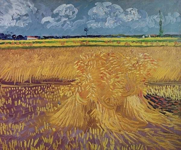 Wheatfield With Sheaves, 1888 Smith & Co Galleries - Strivezy
