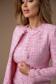 Tweed-Ensemble-Venedig-Rosa-Detailfoto