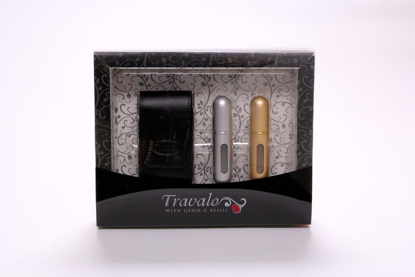 Travel Atomizer Silver and Gold