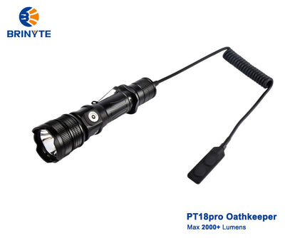 Brinyte PT18pro Oathkeeper kit with RM18 remote pressure switch