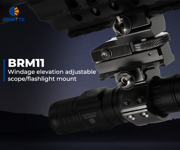 Brinyte BRM11 Windage Elevation Adjustable Mount