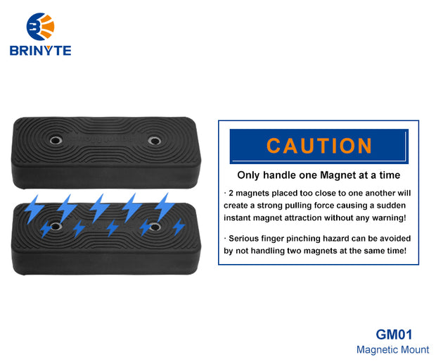Brinyte GM01 Magnetic Mount-2pcs