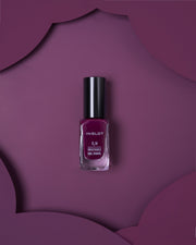 O2M BREATHABLE NAIL ENAMEL 412 DARK PLUM