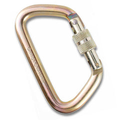"Omega Pacific 1/2"" Large D Screw Lock Carabiner NFPA"