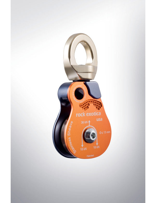"Rock Exotica OMNI-BLOCK 1.5"" Steel Sheave Pulley"