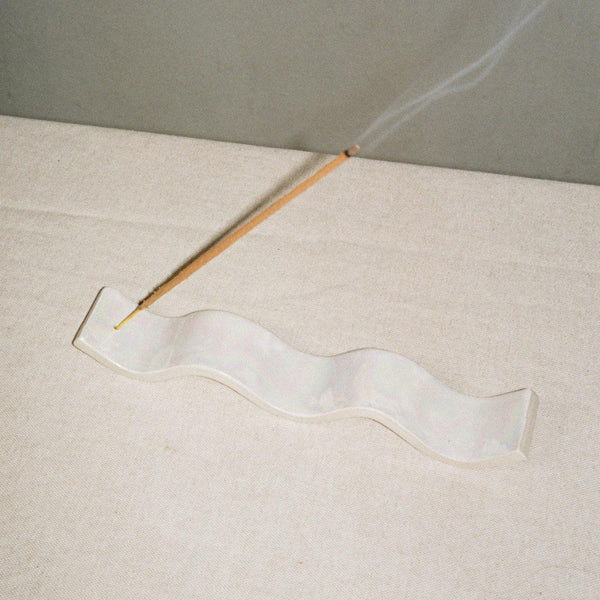 Wave Incense Holder by Rachel Saunders Ceramics
