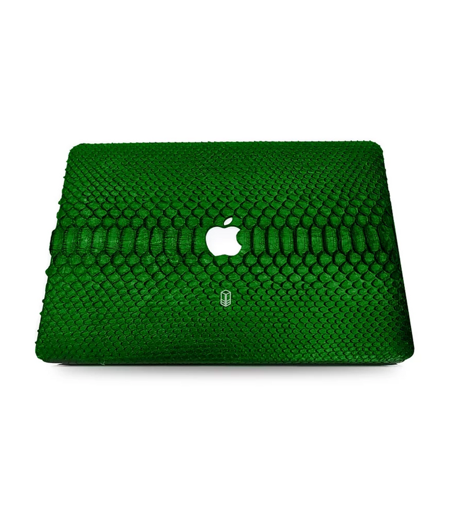 Bottle Green Macbook Python Case