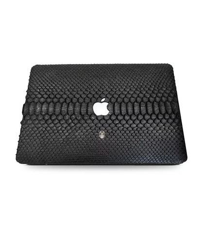 Carbon Black Macbook Python Case