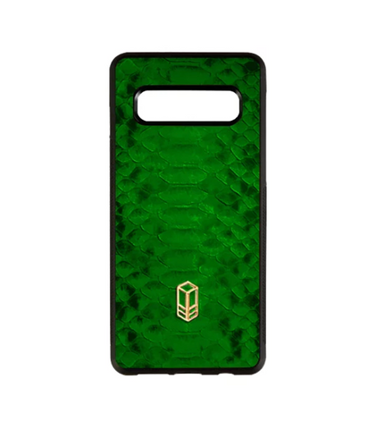 British Racing Green Samsung Python Case