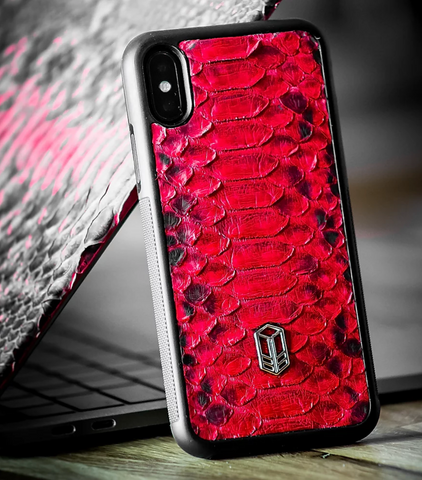 Red Velvet iPhone Python Case