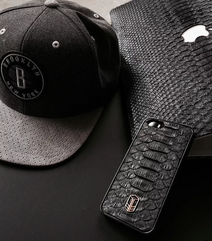 Carbon Black iPhone Python Case