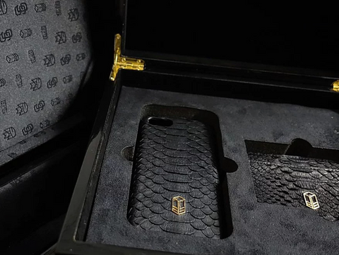 Carbon Black Python Gift Set