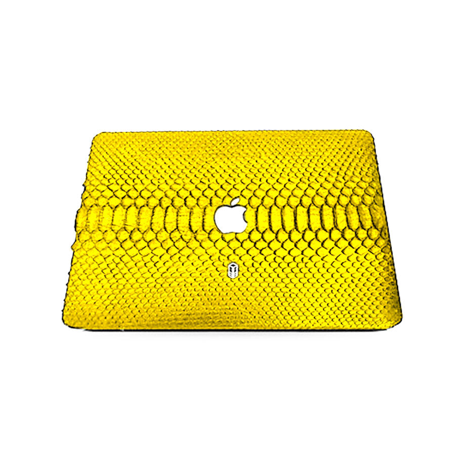 Yellow MacBook Python Case