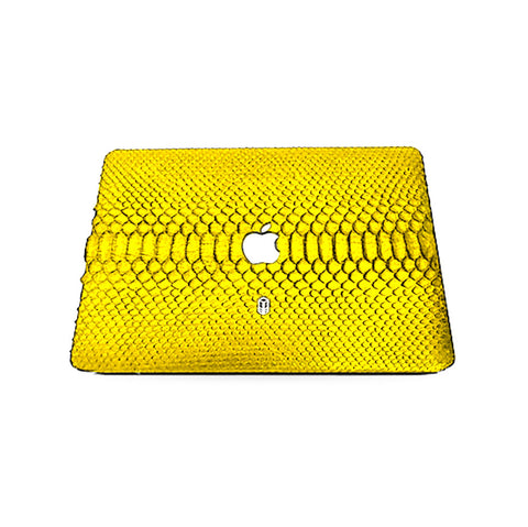 Gadsden Yellow MacBook Python Case