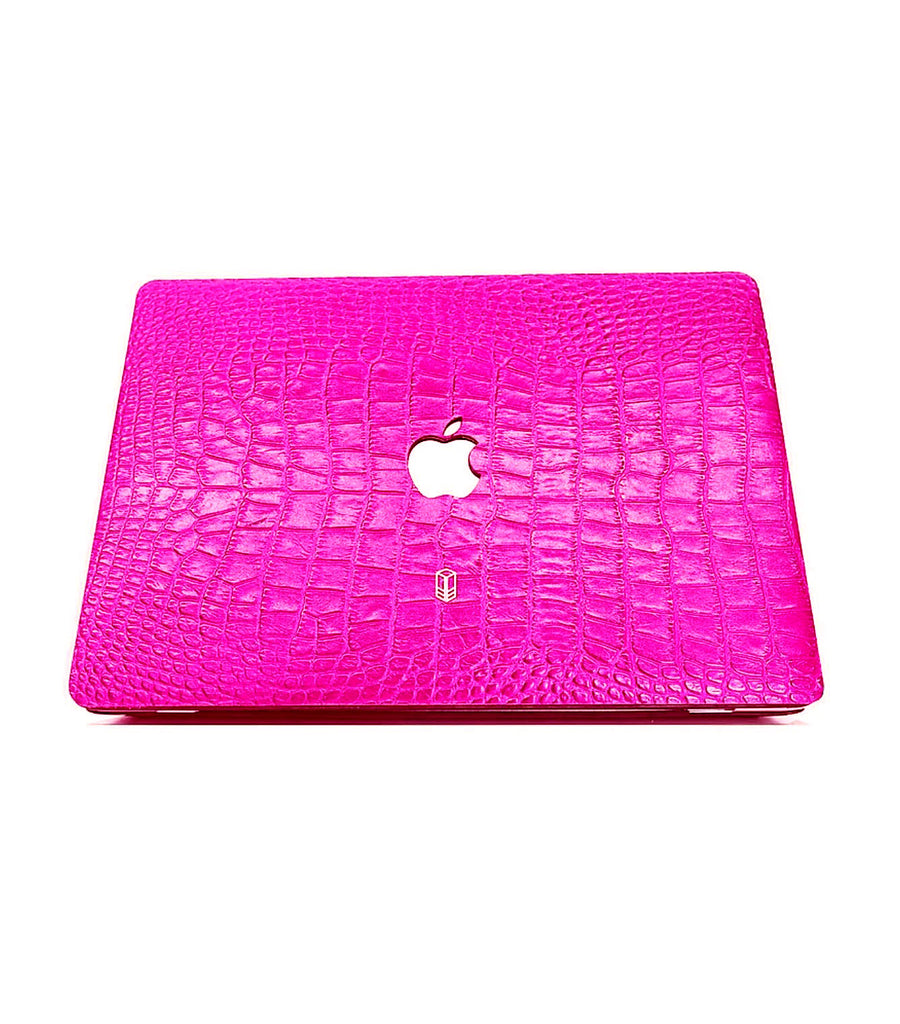 Rose Macbook Alligator Case
