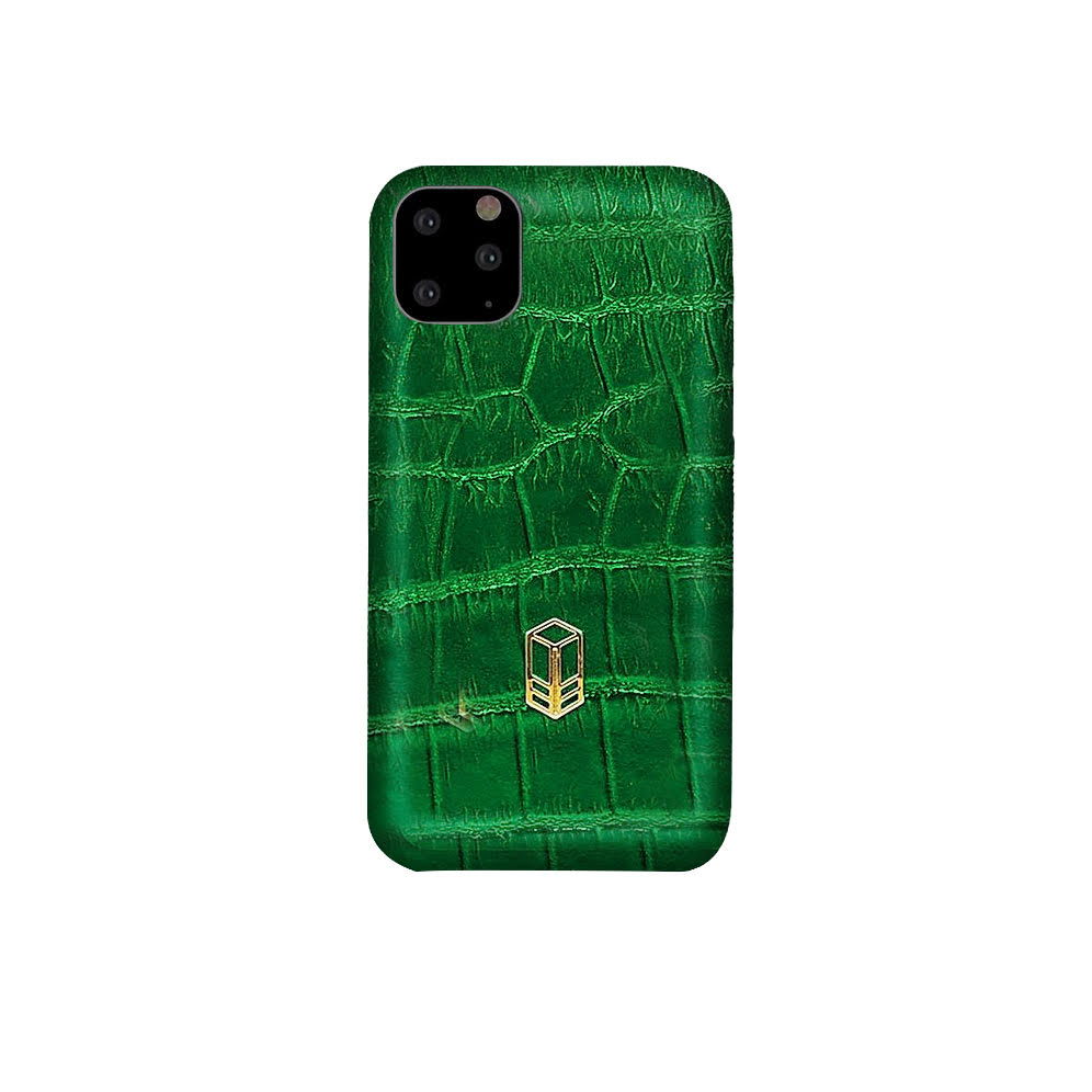 Green iPhone Alligator Case
