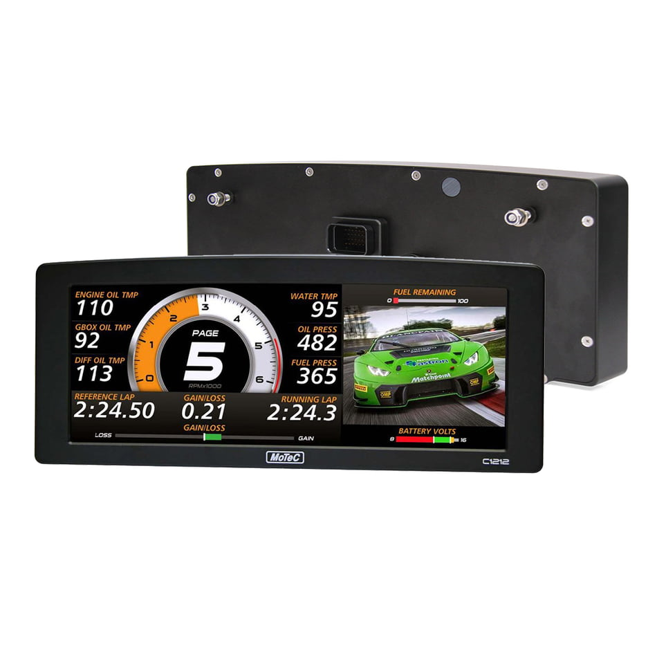 "MoTeC C1212 12"" Color Race Display"