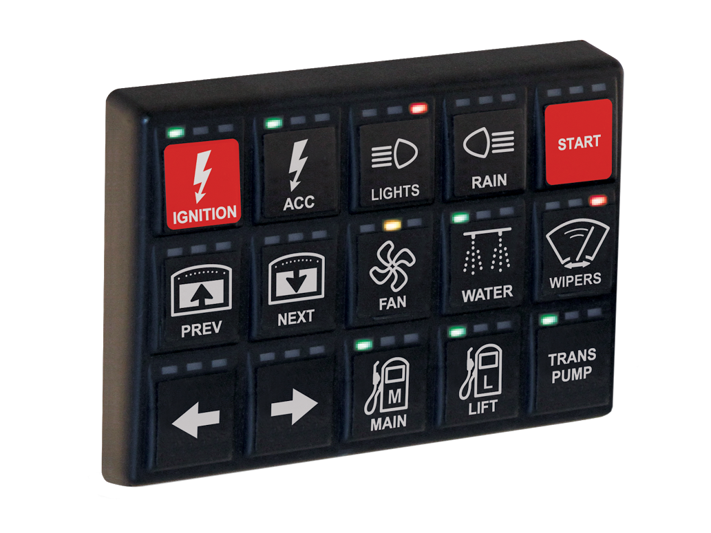 MoTeC 15 Button Keypad