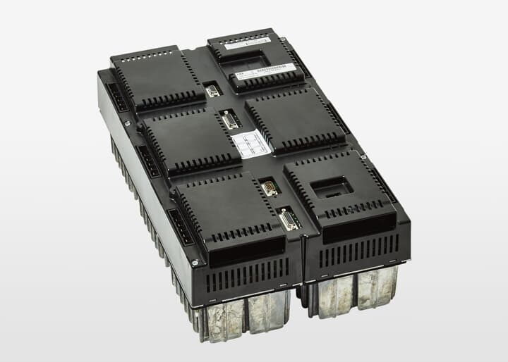 Main servo drive unit
