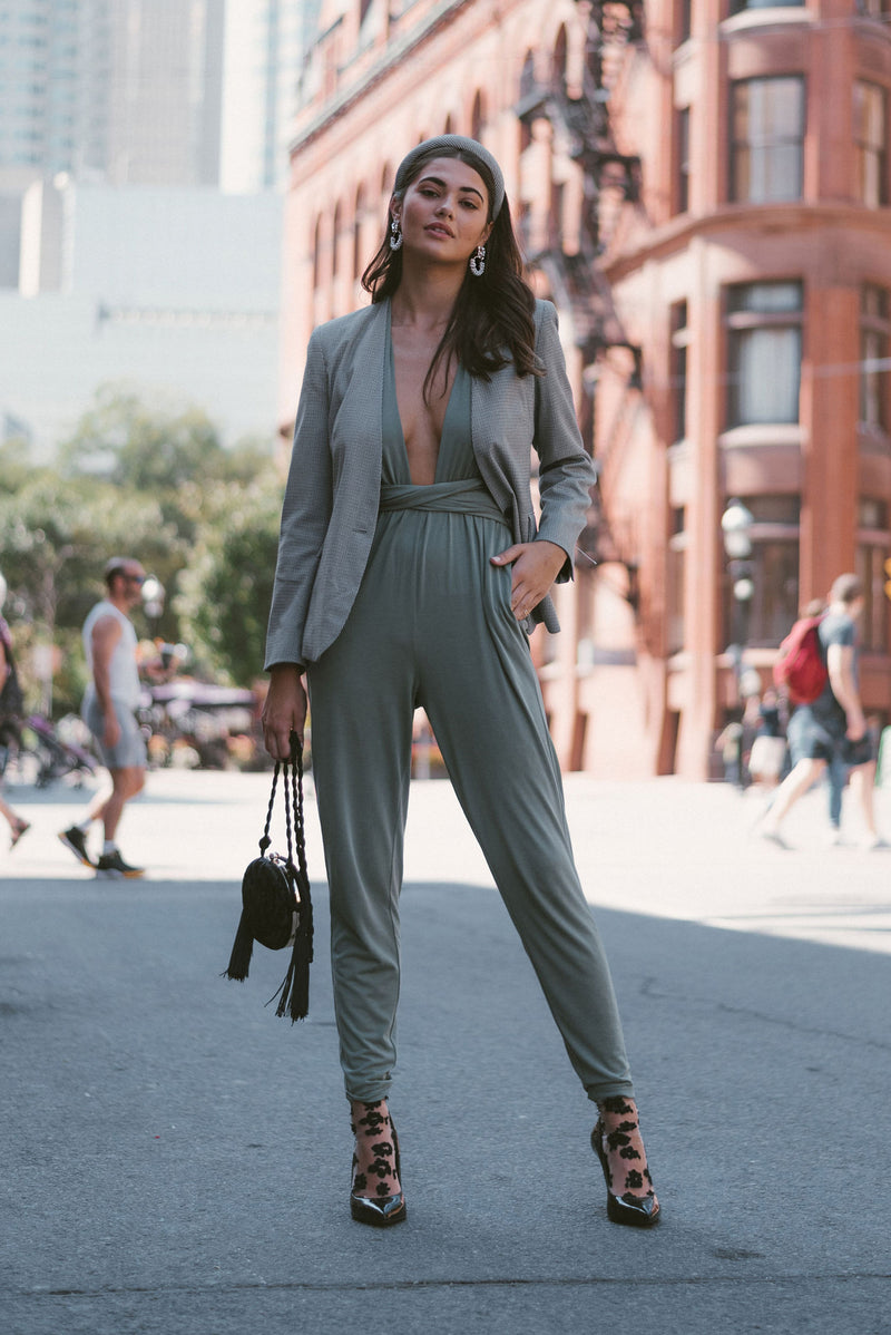 SLATE ORIGINAL JUMPSUIT