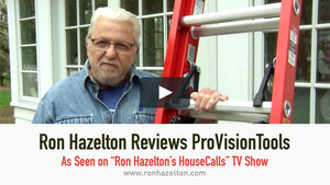 Ron Hazelton Reviews ProVision Tools As Seen on