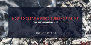 How to Clean a Patio Wood Burning Fire Pit