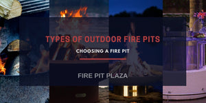 Different Types of Outdoor Fire Pits