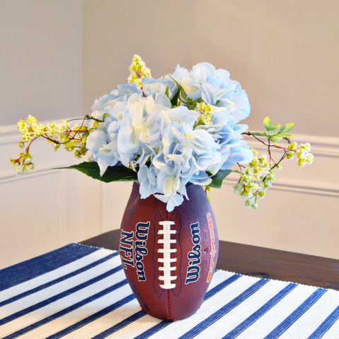 diy football centerpiece