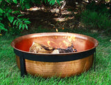 Sunnydaze Decor Hammered Copper Fire Pit - Fire Pit Plaza - 3