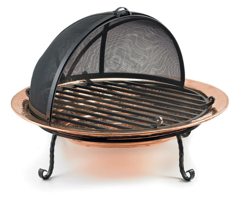 Good Directions Fire Pit - Polished Copper - Fire Pit Plaza - 1